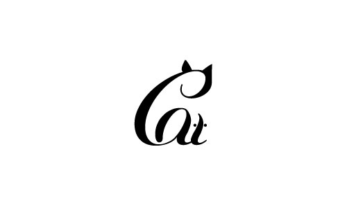 Cat and Mouse Logo
