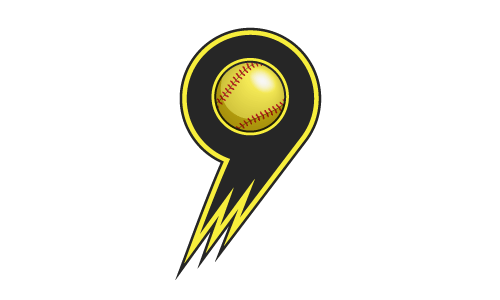 9 Softball Logo