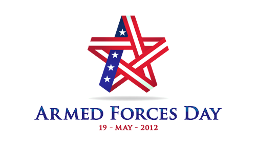 Armed Forced Day 2012 Logo